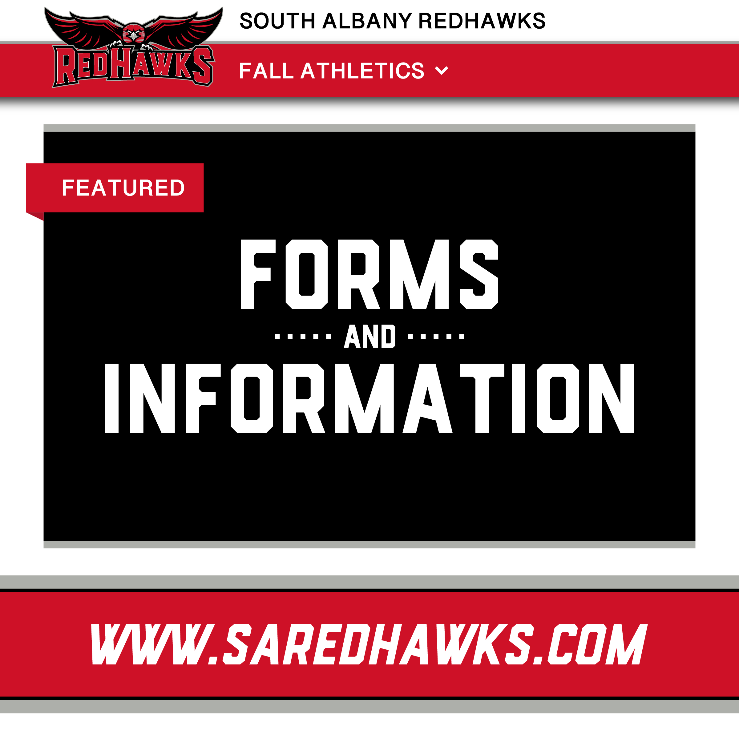 REQUIRED ATHLETIC PARTICIPATION FORMS